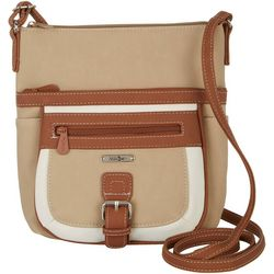 MultiSac Mini Flare Tri Tone Crossbody Handbag
