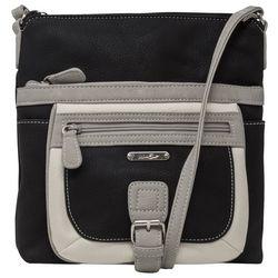 MultiSac Mini Flare Tri Tone Crossbody Handbag