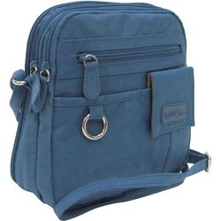 North-South Crinkle Nylon Handbag