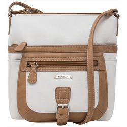 Multi Flare Two Tone Mini Handbag