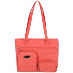 MultiSac Quincy Solid Washable Tote Handbag