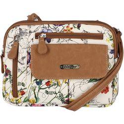 MultiSac Zippy Garden Crossbody Handbag