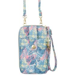 Mundi Jacqui Hands Free Time To Fly Crossbody Wallet