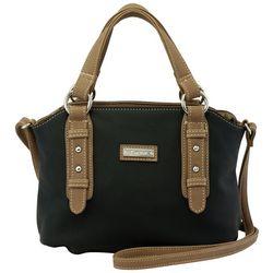 Koltov Black Olivia Hunter Satchel Handbag