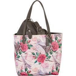 Coral Bay Paris Travel Bag In Bag Tote Handbag