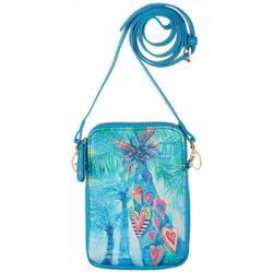Hearts Of Palm Crossbody Handbag