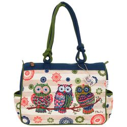 Paul Brent Groovy Owls Handbag