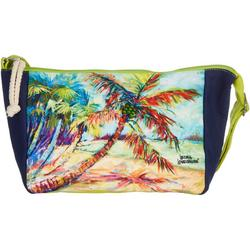 Palms Away Beaded Accent Crossbody Handbag