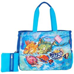 Leoma Lovegrove Catch & Release Beach Bag Tote