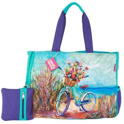 Leoma Lovegrove Beach 'N Ride Oversized Beach Bag Tote