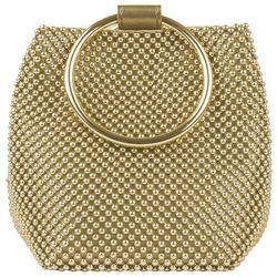 Mundi Gwen Beaded Mesh Handbag