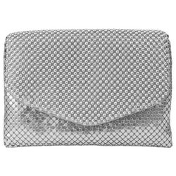 Mundi Brooklyn Ball Mesh Clutch Handbag
