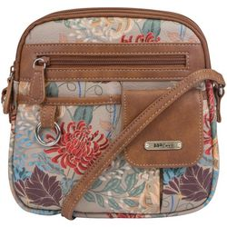 MultiSac North South Floral Organizer Handbag