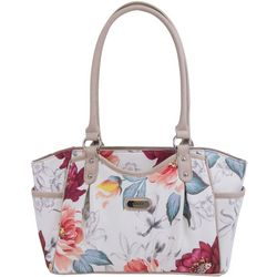 Koltov Gemma Floral Print Shopper Handbag