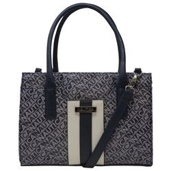 Nautica Lakeside Signature Jacquard Satchel Handbag