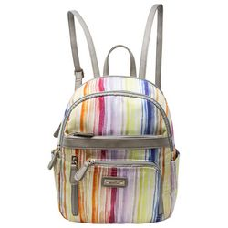 Adele Striped Backpack
