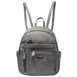 Koltov Adele Solid Faux Leather Mini Backpack