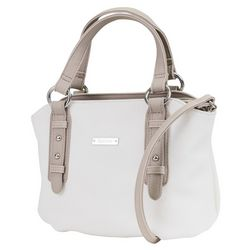 Koltov Two Tone St. Tropez Satchel Handbag