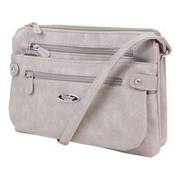MultiSac Vintage Nappa Light Grey Handbag