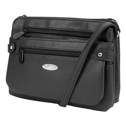 MultiSac Vintage Nappa Black Crossbody Handbag
