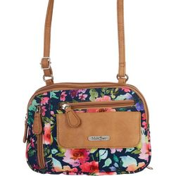 MultiSac Zippy Wild Flower Crossbody Handbag