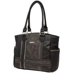 Koltov Mixed Media Clark Tote Handbag