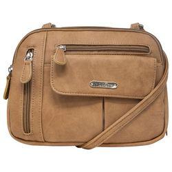Zippy Solid Crossbody Handbag