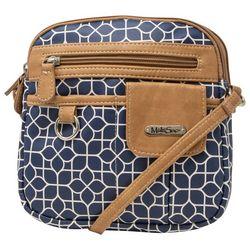 MultiSac North-South Geometric Crossbody Handbag
