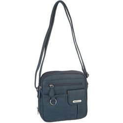 MultiSac North-South Solid Crossbody Handbag