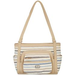 MultiSac Striped Omega Tote Handbag