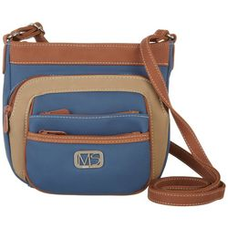 MultiSac Mini Omega Tri Tone Crossbody Handbag