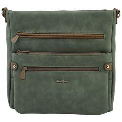 MultiSac Loraine Bela Two Tone Crossbody Handbag