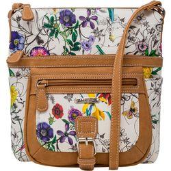 MultiSac Floral Print Flare Mini Handbag