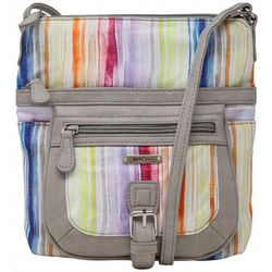 MultiSac Stripes Flare Mini Handbag