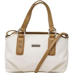 Olivia Solid Satchel Handbag