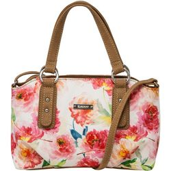 Koltov Olivia Floral Satchel Handbag