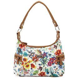 MultiSac Floral Print Nova Hobo Handbag