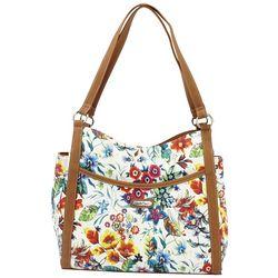 MultiSac Marilou Floral Print Tote Handbag