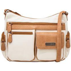 MultiSac Houston Two Tone Crossbody Handbag