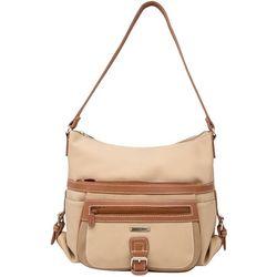 MultiSac Mini Flare Tri Tone Hobo Handbag