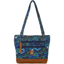 Stone Mountain Paisley Quilted Donna Tote Handbag