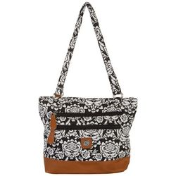 Quilted Donna Tote Handbag
