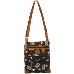 Stone Mountain Lockport Quilted Owl Handbag