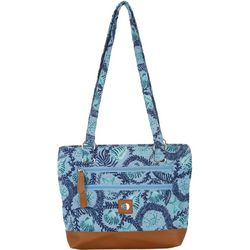 Stone Mountain Seashell Quilted Donna Tote Handbag