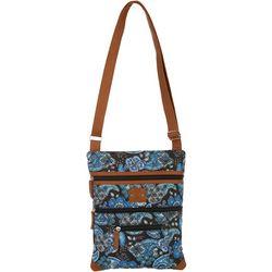Paisley Lockport Handbag