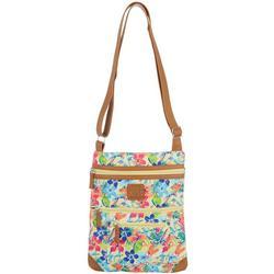 Coral Palm Lockport Handbag
