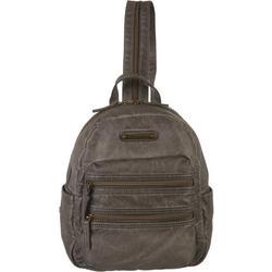 Double Zip Dome Mini  Backpack