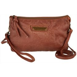Stone Mountain Smoky Mountain Embossed Crossbody Handbag