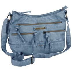 Boat Shoulder Hobo Handbag