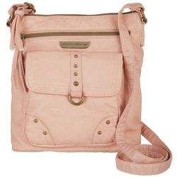Stone Mountain Smoky Mountain Front Zip Crossbody Handbag